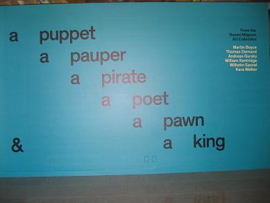 a puppet a pauper a pirate a poet a pawn & a king