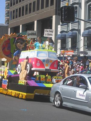 Auckland Santa Parade 2013