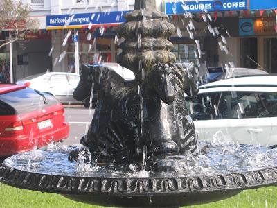 Devonport Sculptures and fountains