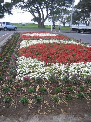 Devonport Flower Beds and Trees