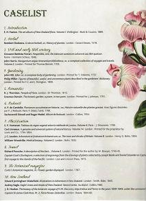 Flowers, Fruit and Foliage pamphlet part 2
