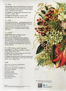 Flowers, Fruit and Foliage pamphlet part 4