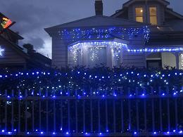 Franklin Road Christmas Lights 2014