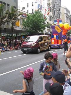 Auckland Santa Parade 2015