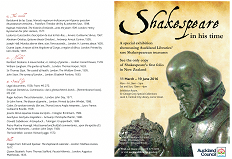 Shakespeare in his time