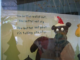 Christmas 2016 - Smith & Caughey Window