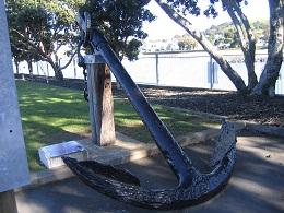 Torpedo Bay Navy Museum - Outside