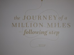 Auckland Maritime Museum - the journey of a million miles - following step