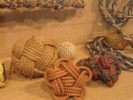 Auckland Maritime Museum - knot touch