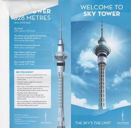 Sky Tower ticket